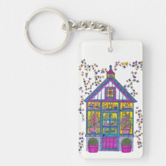 Welcome House Keychain