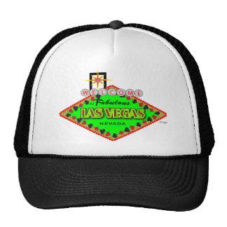 Welcome-Las-Vegas-blk png Hats
