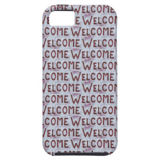 Welcome Letters Pattern iPhone 5 Cases