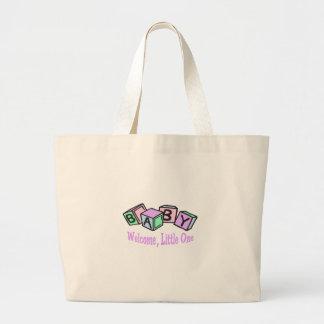 Welcome,Little One Jumbo Tote Bag