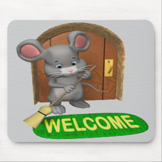Welcome Mousepad
