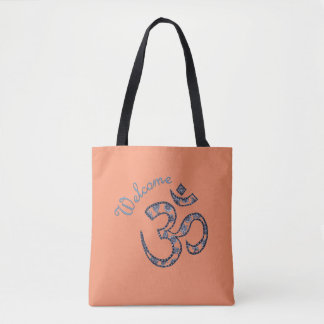 Welcome Om Customizable Two-tone Tote