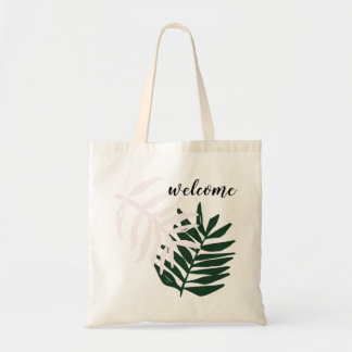 Welcome | Palm Getaway Tote Bag