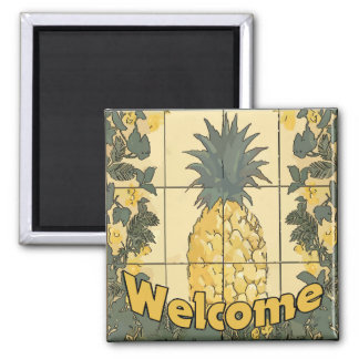 Welcome Pineapple Magnet