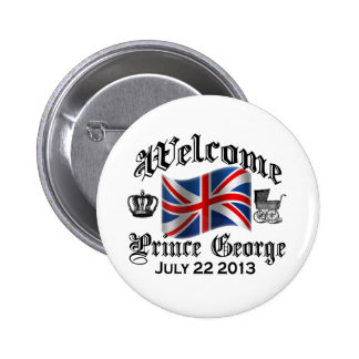 Welcome Prince George July 22 Pins
