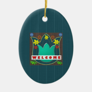 WELCOME Reception Event Management GIFTS Dress Christmas Tree Ornament