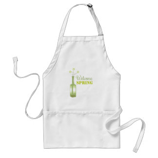 Welcome Spring Apron