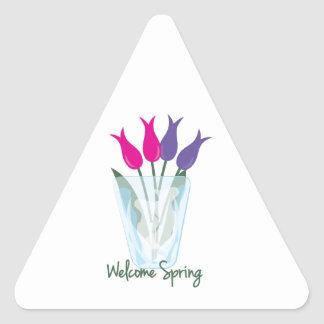 Welcome Spring Stickers