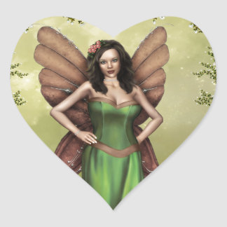 Welcome Heart Sticker