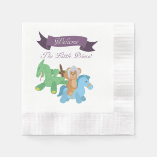 Welcome The Little Prince Disposable Napkin