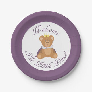 Welcome The Little Prince Paper Plate