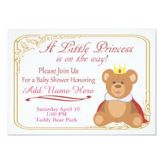 Welcome The Little Princess 13 Cm X 18 Cm Invitation Card