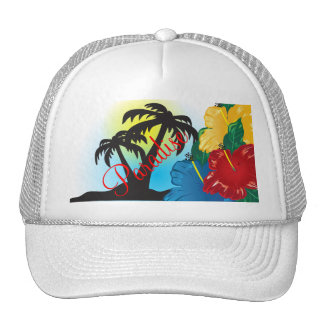 Welcome to a Beautiful Tropical Paradise Trucker Hat
