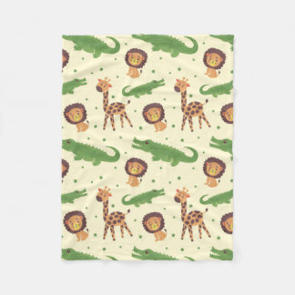 Welcome to Africa Fleece Blanket
