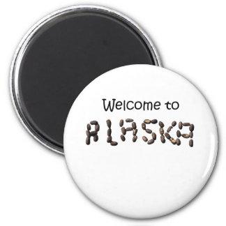 welcome to alaska magnet