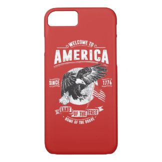 Welcome To America Glossy Phone Case