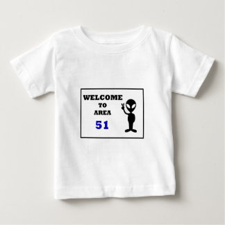 Welcome To Area 51 Baby T-Shirt