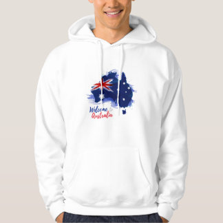 Welcome to Australia | Watercolor Style Hoodie