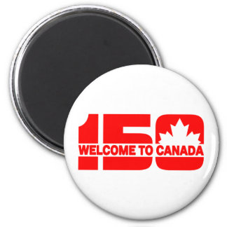 Welcome to Canada - 150 Magnet