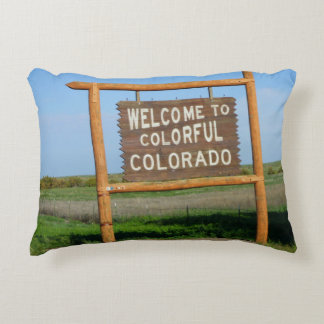 Welcome to Colorful Colorado Pillow!!! Decorative Cushion