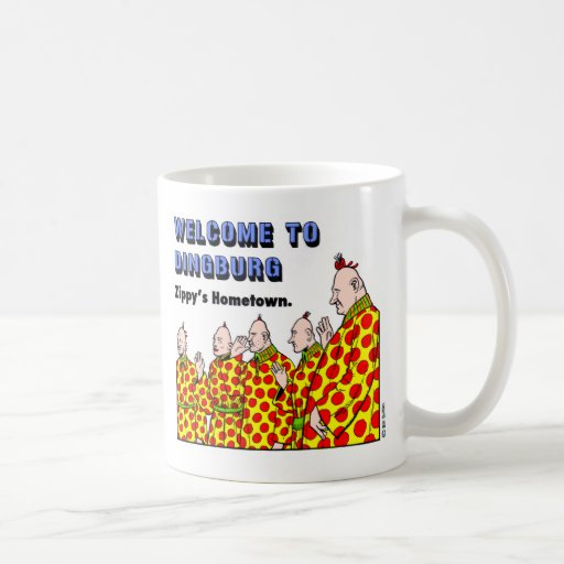 Welcome To Dingburg #1 Coffee Mugs