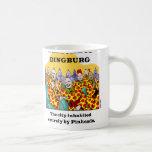Welcome To Dingburg #3 Classic White Coffee Mug