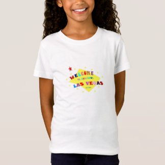 Welcome To Fabulous Las Vegas Girls Baby Doll Tee