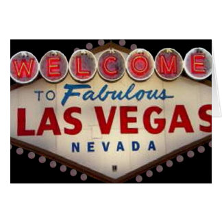 Welcome to Fabulous Las Vegas Invitation Card