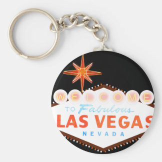 Welcome To Fabulous Las Vegas Key Ring