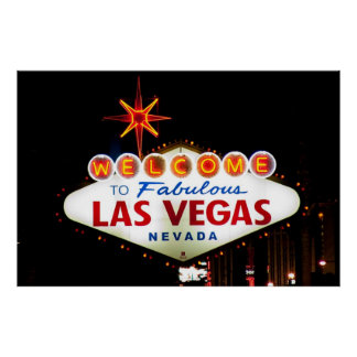 Welcome to Fabulous Las Vegas Nevada SIgn Night