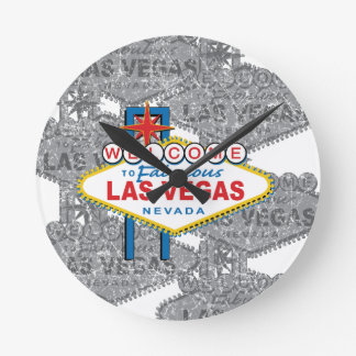 Welcome to Fabulous Las Vegas Round Clock