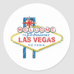 Welcome to Fabulous Las Vegas Round Sticker