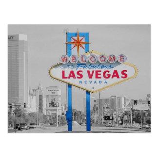 Welcome to Fabulous Las Vegas Sign Postcard