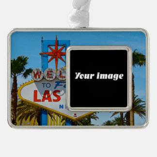 Welcome to Fabulous - your image Silver Plated Framed Ornament