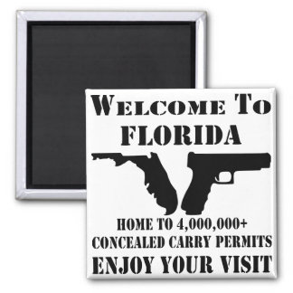 Welcome To Florida Home To 4,000,000+ CCW Permits Magnet