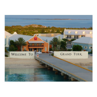 Welcome To Grand Turk Postcard