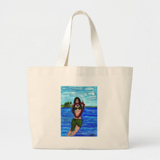 Welcome to Hawaii Large Tote Bag