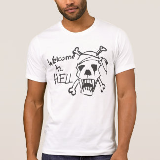 Welcome to Hell Sniper Alley Sarajevo Tee Shirts