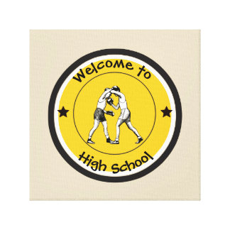 Welcome to High School Canvas Print