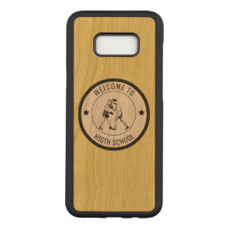 Welcome to High School Carved Samsung Galaxy S8+ Case