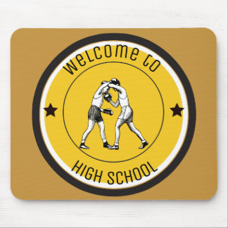 Welcome to High School Mouse Pad