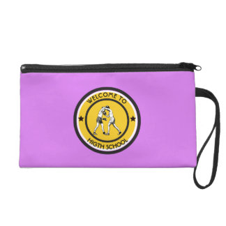Welcome to High School Wristlet