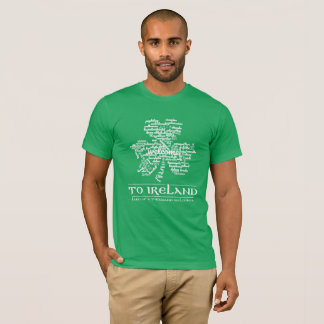 Welcome to Ireland (land of a thousand welcomes) T-Shirt