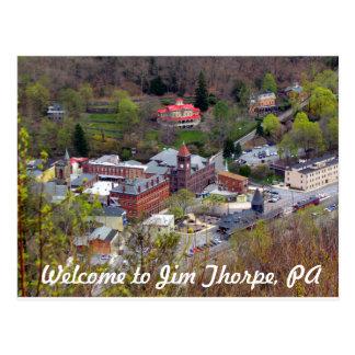 Welcome to Jim Thorpe Postcard
