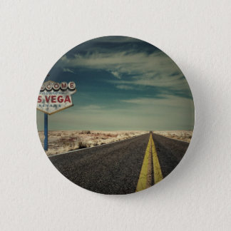 Welcome to Las Vegas 6 Cm Round Badge