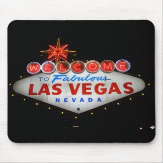 Welcome to Las Vegas Mousepad (night)