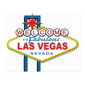Welcome-to-Las-Vegas Postcard