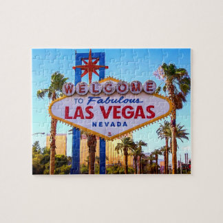 Welcome to Las Vegas Sign Jigsaw Puzzle