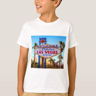 Welcome to Las Vegas Sign Kids T-shirt
