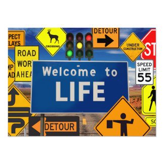 WELCOME TO LIFE CARD